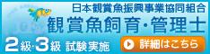 観賞魚飼育・管理士試験